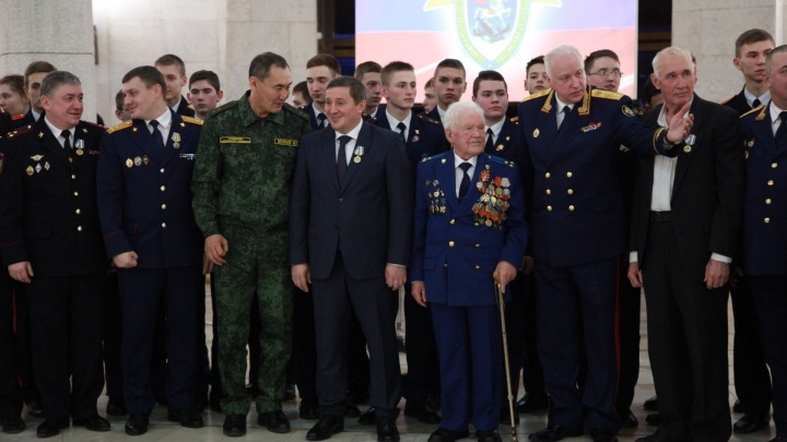 Глава Следственного комитета РФ поощрил Михаила Музраева и Андрея Бочарова