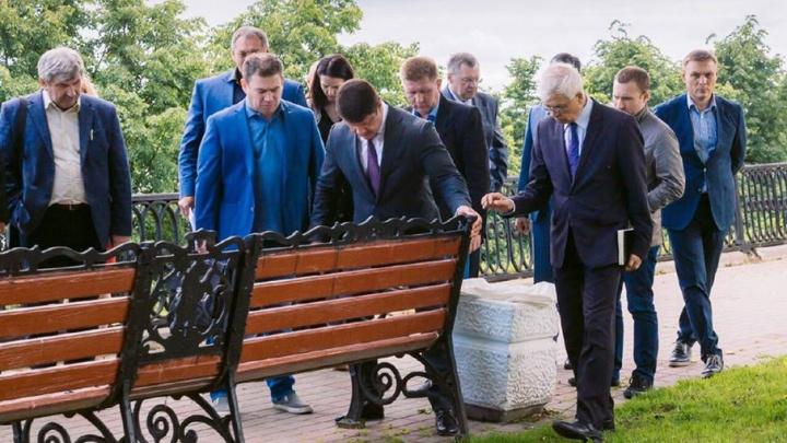 Городские власти решили привести в порядок Волжскую набережную в Ярославле