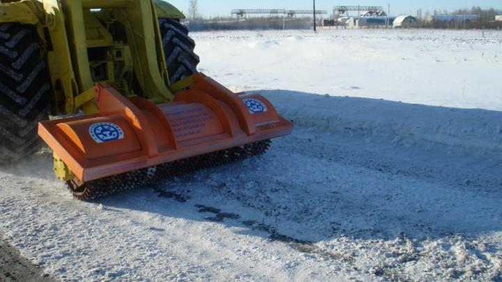 Из-за снегопада в Тюмени дорожники перешли на усиленный режим работы