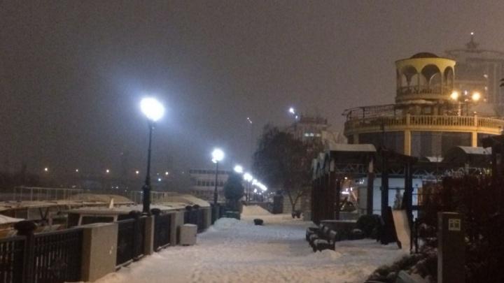 Ростов накрыла снежная буря: следим в режиме онлайн