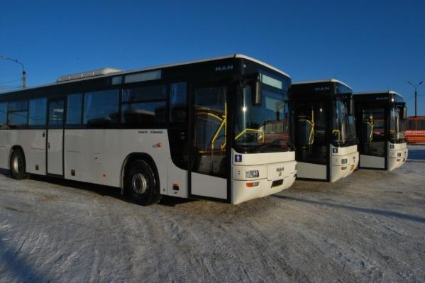 Новый перевозчик должен был работать на маршрутах, связывающих Новодвинск с областным центром