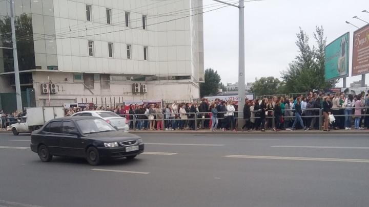 Из торгово-офисного центра «Скала» эвакуировали несколько десятков человек