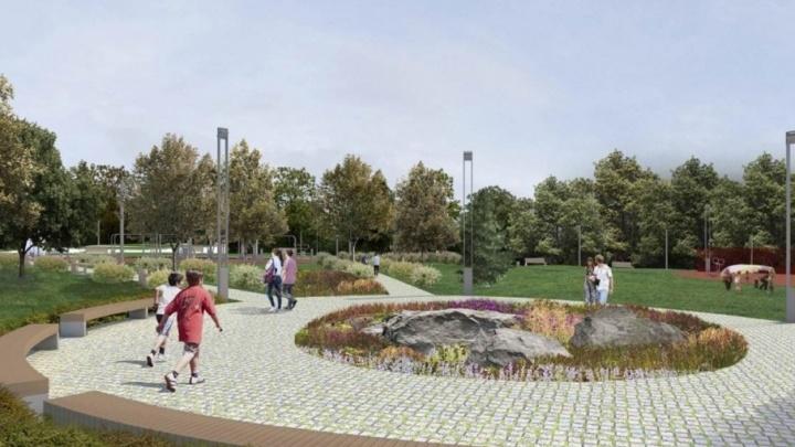 Ростовчанам представили проект нового городского сквера «Северный»