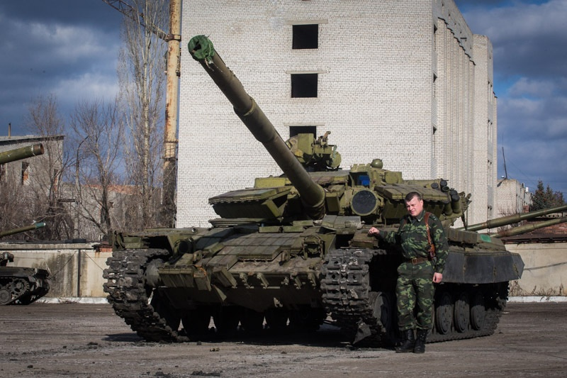 """Заместитель командира батальона """"Август"""" Алексей Цимбал"""
