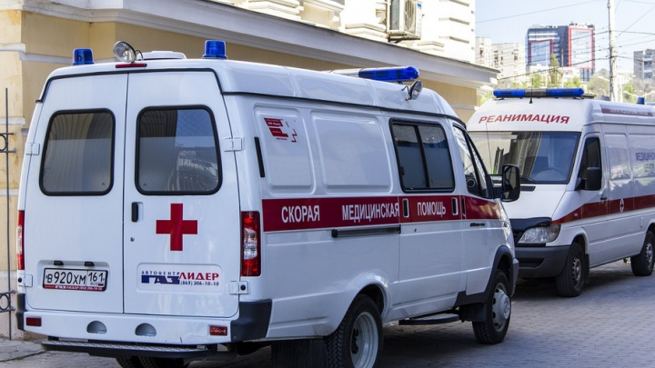 В Ростове на Доватора «Газель» сбила мотоцикл