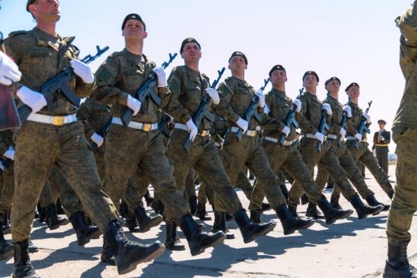 Военные проведут акцию после парада