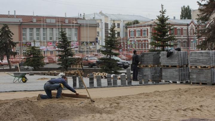 В скверах около площади Куйбышева установят систему видеонаблюдения