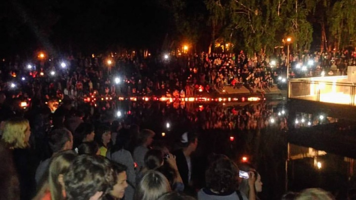 В Самаре на романтическом фестивале запустили фонарики желаний и слушали скрипку