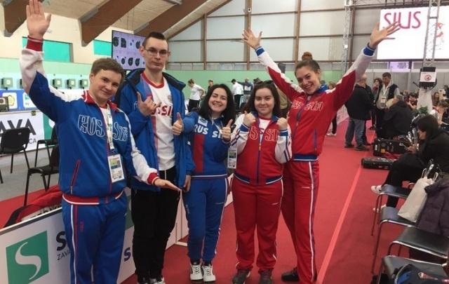 Северодвинский стрелок Михаил Исаков завоевал золотую медаль на первенстве Европы