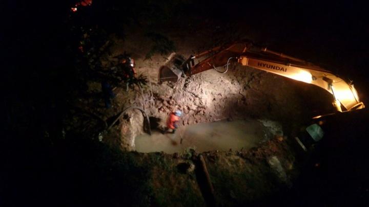 В Тракторозаводском районе коммунальный порыв затопил двор детсада