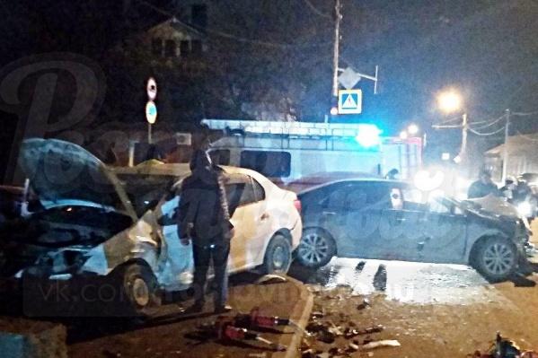 Виновник аварии на Белорусской скрылся с места ДТП