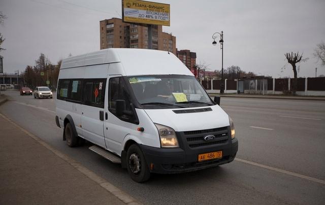 Из-за тюменских полицейских временно изменят схему движения маршрута №43
