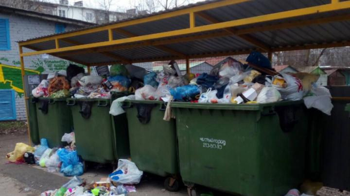 Ростовчанин пожаловался на коммунальщиков, которые с нового года ни разу не вывезли мусор возле его дома