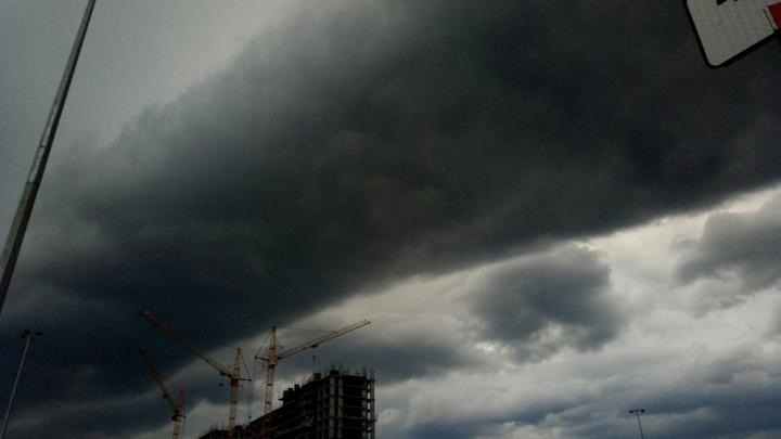 В воскресенье в Тюмени будет сильный ветер с порывами до 18 м/с