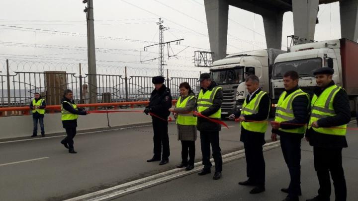 «Спасибо за терпение!»: под Самарой открыли мост через Волгу у ГЭС
