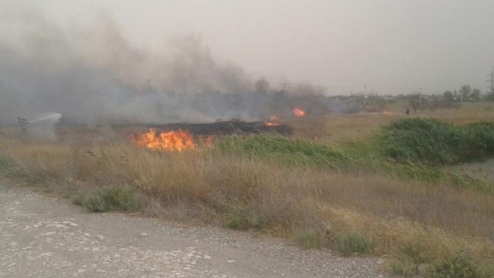 Пожар уничтожил три улицы в дачном поселке «Нефтяник»