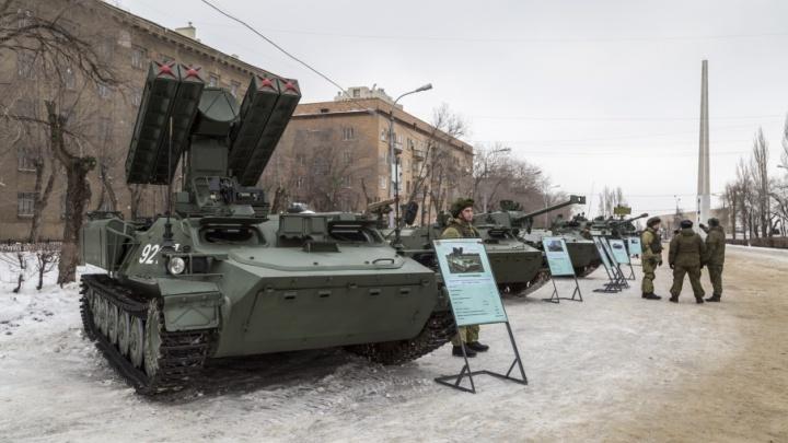 Зенитчики сбили под Волгоградом тридцать вражеских летательных аппаратов