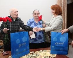 Банк ВПБ в Ростове-на-Дону поздравил ветеранов Великой Отечественной войны