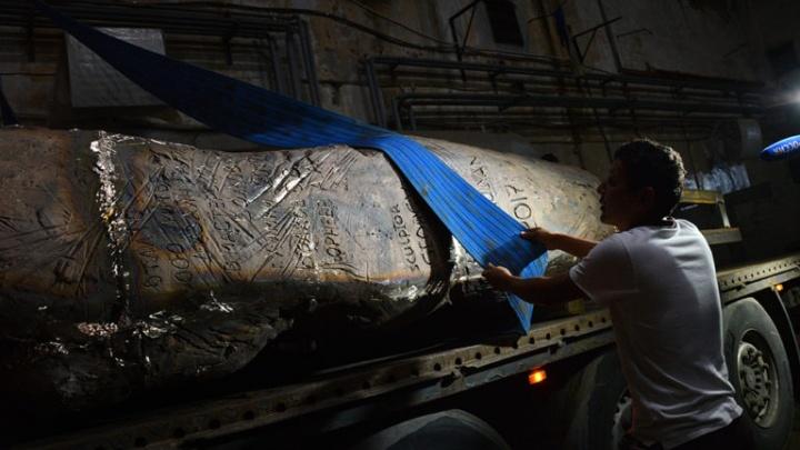 Камни из рыбинского «Волголага» отвезут в Москву для «Стены скорби»
