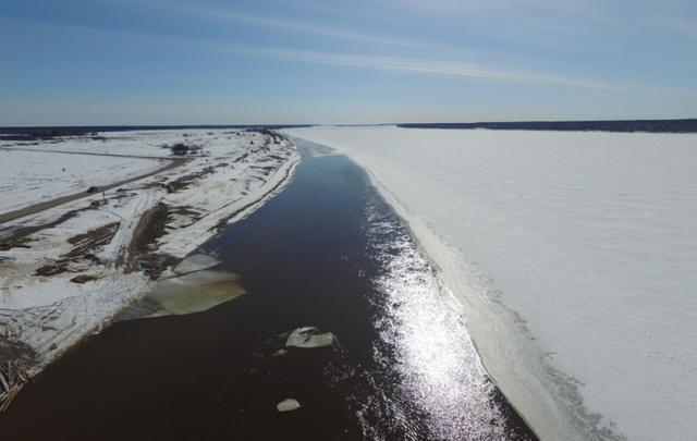 В МЧС рассказали, как проходит ледоход в Поморье