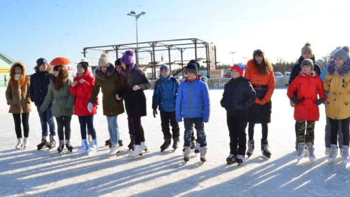 Волгоградцы закрывают ледяной сезон огненным шоу