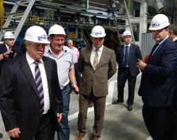 Василий Голубев побывал на объектах ГК «ПАТРИОТ» в Ростове
