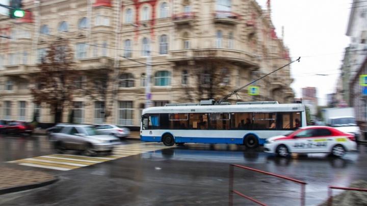 В Ростове троллейбусные перевозки передали муниципальной компании