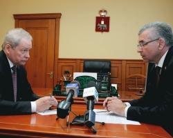 Виктор Басаргин обсудил с Игорем Сапко вопросы развития Перми