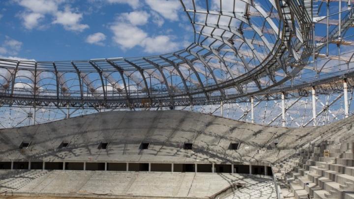 Ростехнадзор обнаружил новые нарушения на строящемся стадионе «Волгоград Арена»