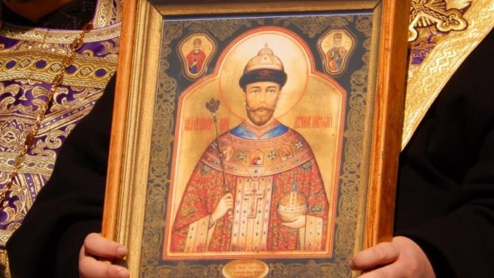 Мироточивая икона Николая II проедет мимо Волгограда