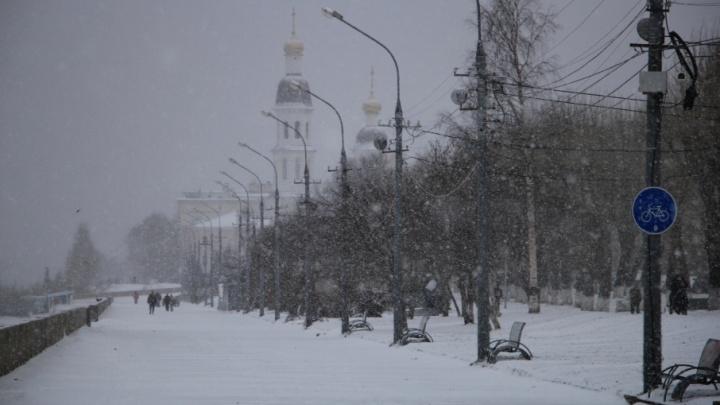 Снежная погода сохранится в Поморье во вторник