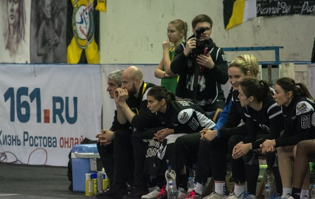 ГК «Ростов-Дон» отправился на матч Суперлиги с «Динамо-Синарой»