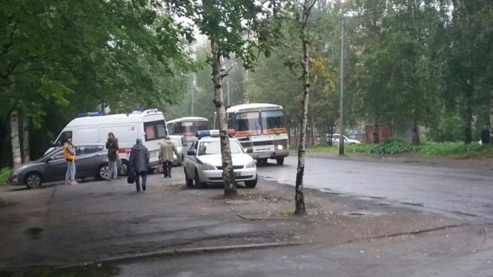 В Архангельске водитель «Хендай-Солярис» при развороте сбил мужчину