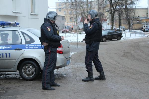 Задержанный передан сотрудникам полиции