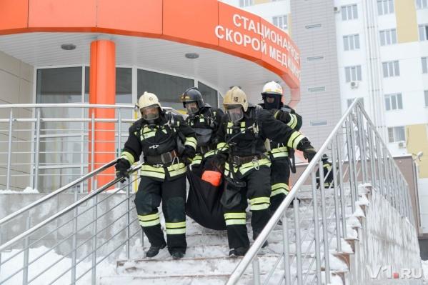 Спасатели уложились меньше чем за 20 минут