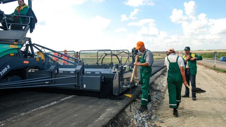 Дорога от М-4 «Дон» до аэропорта Платов готова на 90%