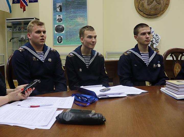 пресс-служба Государственного университета морского и речного флота имени адмирала С.О. Макарова