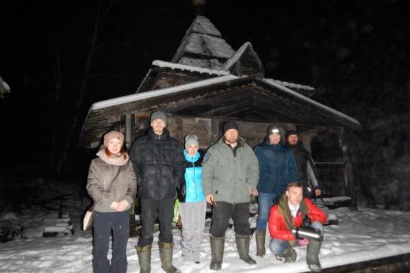 Северодвинцы вернулись из похода в урочище Куртяево