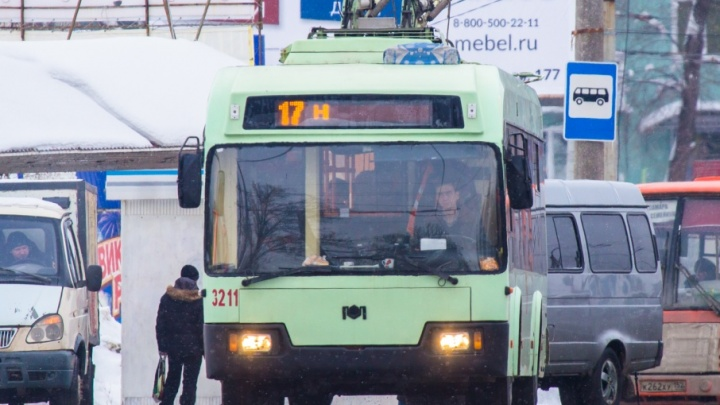 Троллейбусы по кольцу на Кирова / Московском шоссе пустят до конца недели