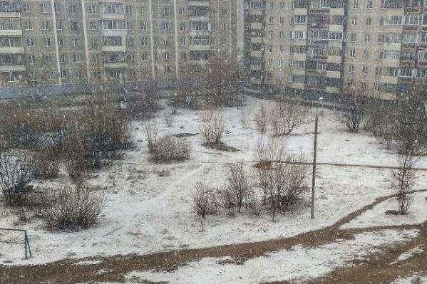 Проснувшись апрельским утром, жители Миасса внезапно вновь оказались в феврале