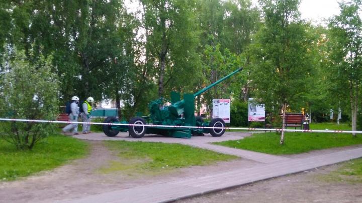 В Архангельске эксперты обнаружили деталь, которая фонила у зенитки