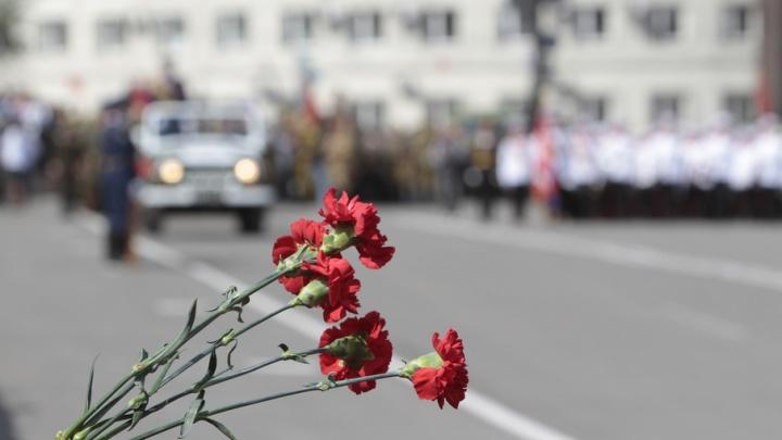 В Челябинске сожгли сотни американских гвоздик, привезенных ко Дню Победы
