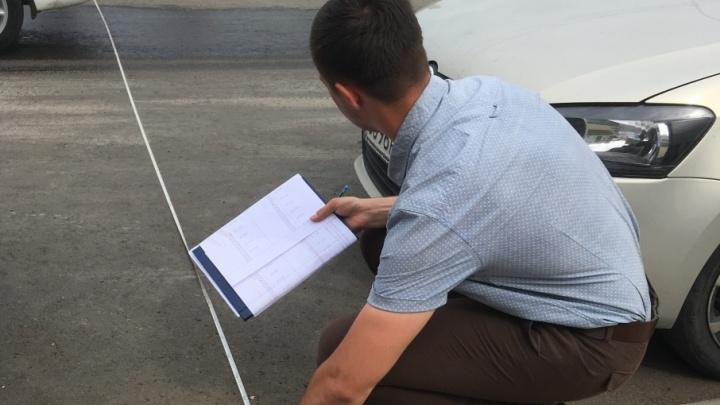 В Самаре проинспектировали обновленный участок дороги на проспекте Карла Маркса