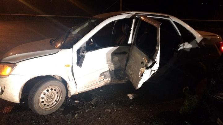Молодой водитель без прав спровоцировал ДТП с пострадавшими под Самарой