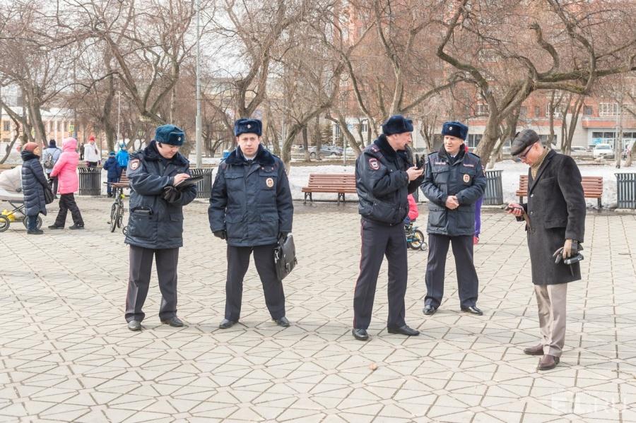 Полиция насчитала на акции не более 200 человек.