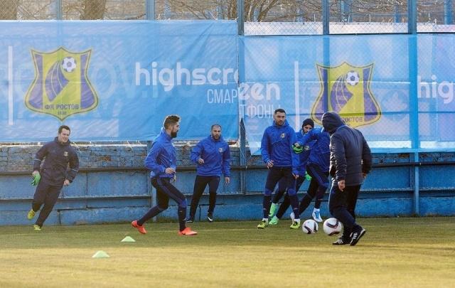 ФК «Ростов» начал подготовку к ответному матчу с «Манчестер Юнайтед»