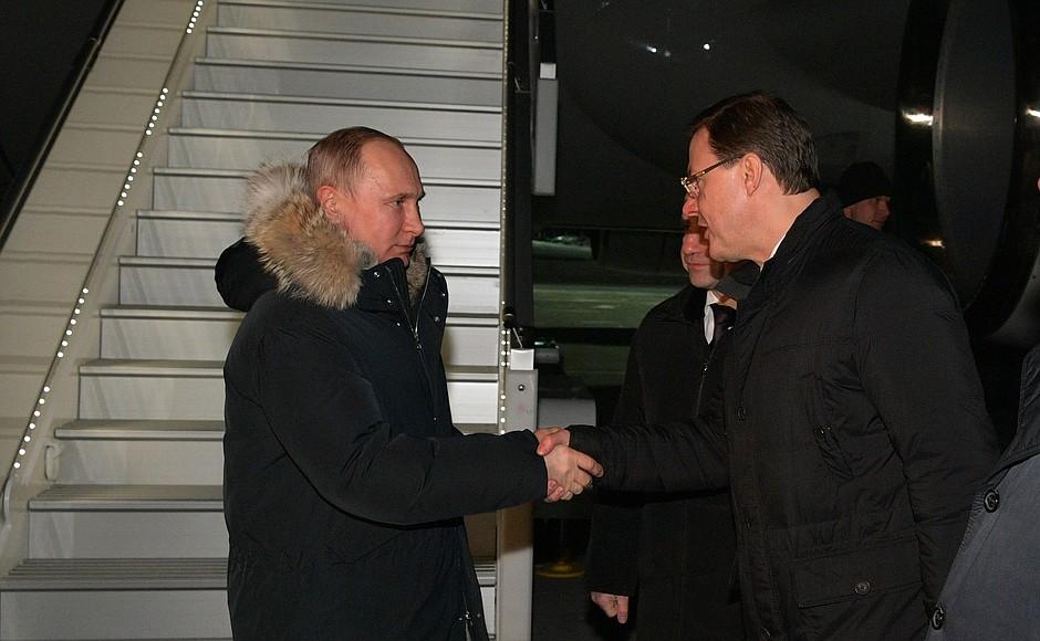 Крепкое рукопожатие обещает блага Самарской области?