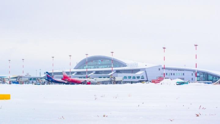 В новогодние праздники из аэропорта Курумоч пустят 679 рейсов