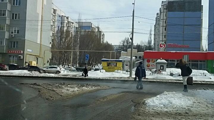 На пересечении 5-й просеки и улицы Солнечной установят светофоры