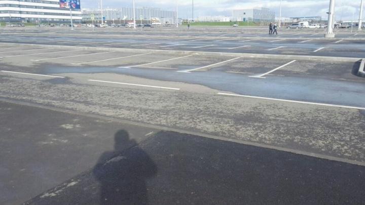 В Платове решили в три раза увеличить количество мест на бесплатной парковке